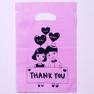 땡큐 커플 핑크 100매