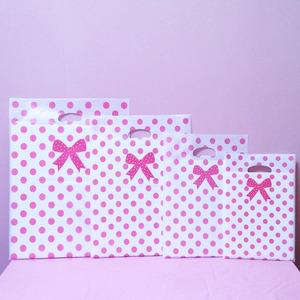 땡땡이 핑크 100매